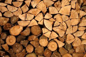 houtworm in haardhout